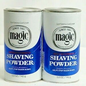 Lot Of 2 Softsheen Carson Magic Shave Regular Strength Shaving