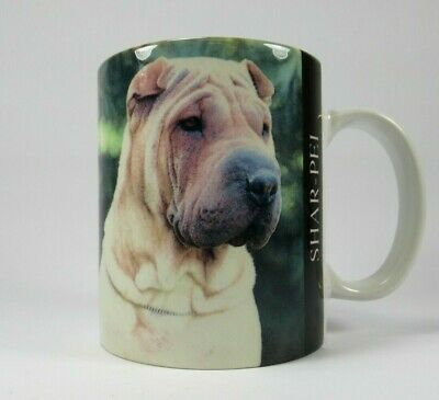 COFFEE WITH SHAR PEI COFFEE MUG SHAR PEI DOG MUG SHAR PEI GIFT SHAR PEI MUG