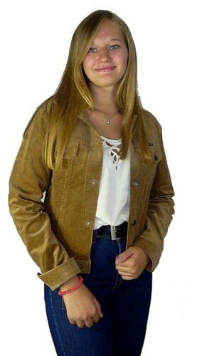 Damen Jacke Cord Winter Herbst Jacke Urban Baumwollcord Feinstrick Vintage