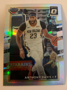 ANTHONY-DAVIS-2017-18-Donruss-Optic-Silver-Holo-Prizm-Pelicans-Lakers-Kentucky
