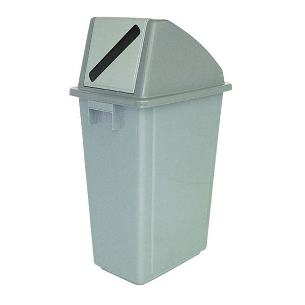 Recycling Container 60 Litre Paper Lid Lid Lid grau 383013 21fdee