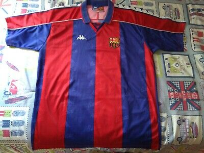 F.C. BARCELONA ORIGINAL KAPPA. AÑOS 90   eBay