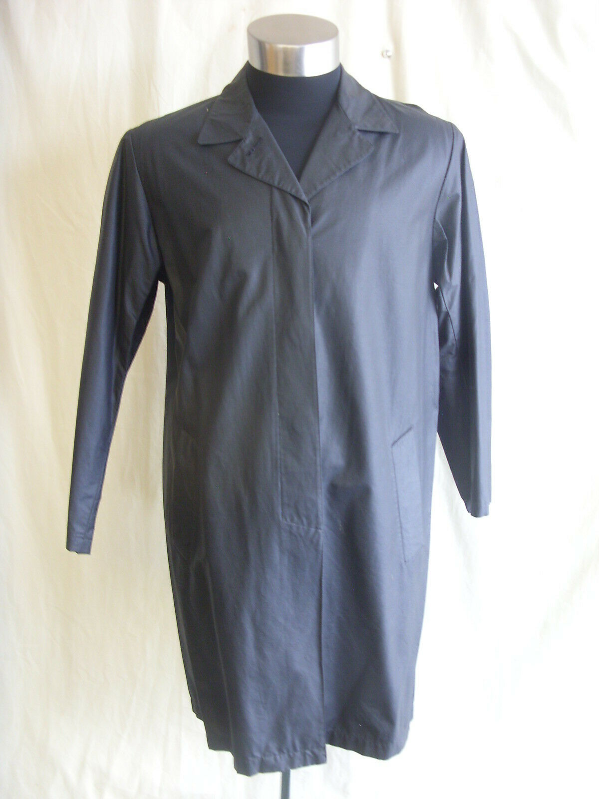 Mens Coat - London Fog, size 42  regular, navy dark bluee, mac raincoat - 2110