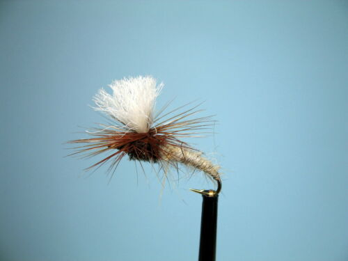3 X HARE'S EAR KLINKHAMMERS DRY TROUT FLIES  size 12, 14, 16 available