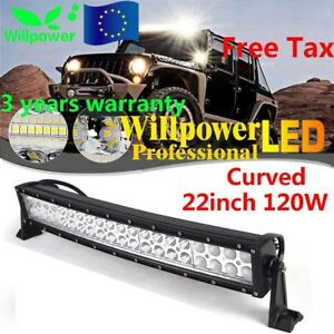 22inch-120W-LED-Curved-WORK-LIGHT-BAR-SUV-ATV-BOAT-DRIVING-LAMP-OFFROAD-TRUCK