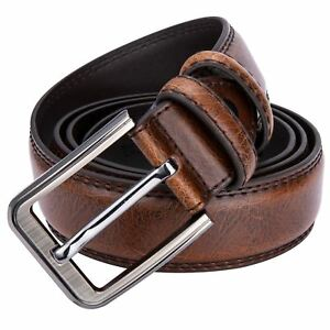 Men-Cowhide-Real-Leather-Belt-Casual-Male-Pin-Buckle-Brand-Strap-Brown-Vintage-C