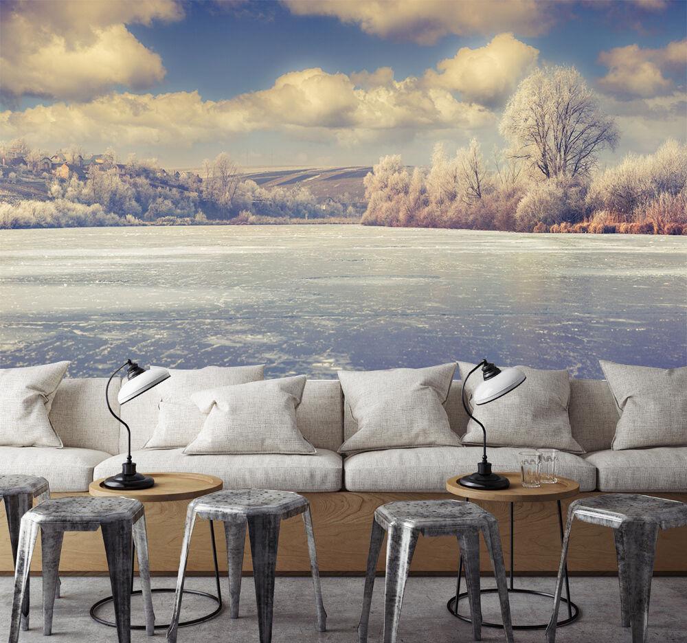 3D See, Schnee 5 Fototapeten Wandbild Fototapete Bild Tapete Familie Kinder | Auktion  | Creative  | Haben Wir Lob Von Kunden Gewonnen