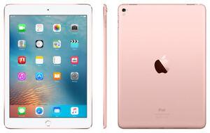 NEW Apple iPad Pro 9.7 256GB 12MP 5MP WiFi & Cellular 4G LTE RoseGold