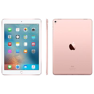 Apple iPad Pro 9.7 256GB 12MP 5MP WiFi & Cellular 4G LTE RoseGold REFURBISHED