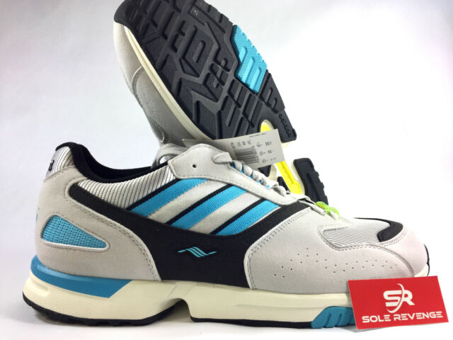 recognized brands quality products where to buy NEW adidas Consortium ZX 4000 (Grey One | Black | Cyan) D97734 Mens Shoes n1