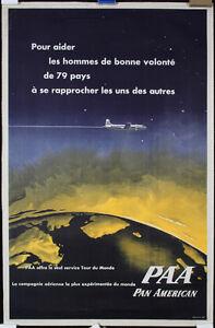 Original-1950s-PAA-Pan-American-Travel-Poster-Lot-375