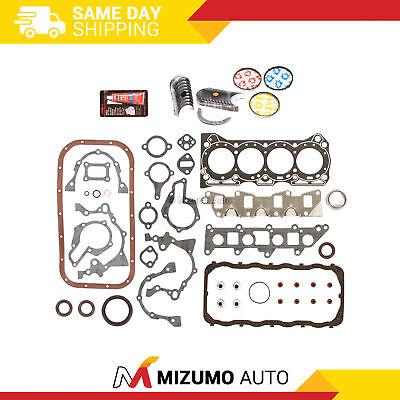 86-95 Suzuki Swift Samurai Sidekick 1.3 Full Gasket/&Piston/&Bearing/&Ring Set G13A