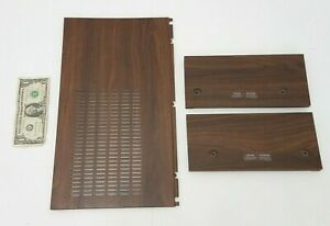 Pioneer SX-3400 Stereo Wooden Chassis Side Pieces and Faux Wood Top Cover Parts