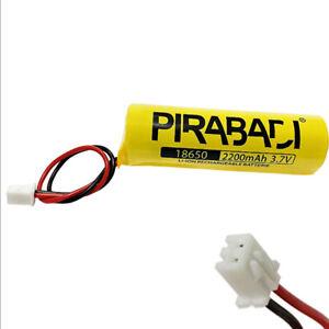 PACK-PILE-BATTERIE-18650-RECHARGEABLE-LI-ION-3-7V-2200MAH-AVEC-CONNECTEUR-PCB