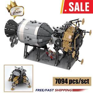 NASA Apollo Spacecraft Creative Series Compatible with 26457 Building Blocks