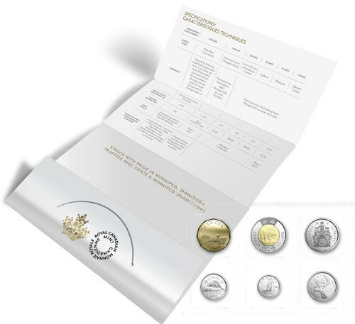 all the traditional designs IN STOCK 2019 Canada Brilliant Uncirculated set