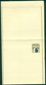 DENMARK 5 on 3ore, wrapper (20) unused, VF,