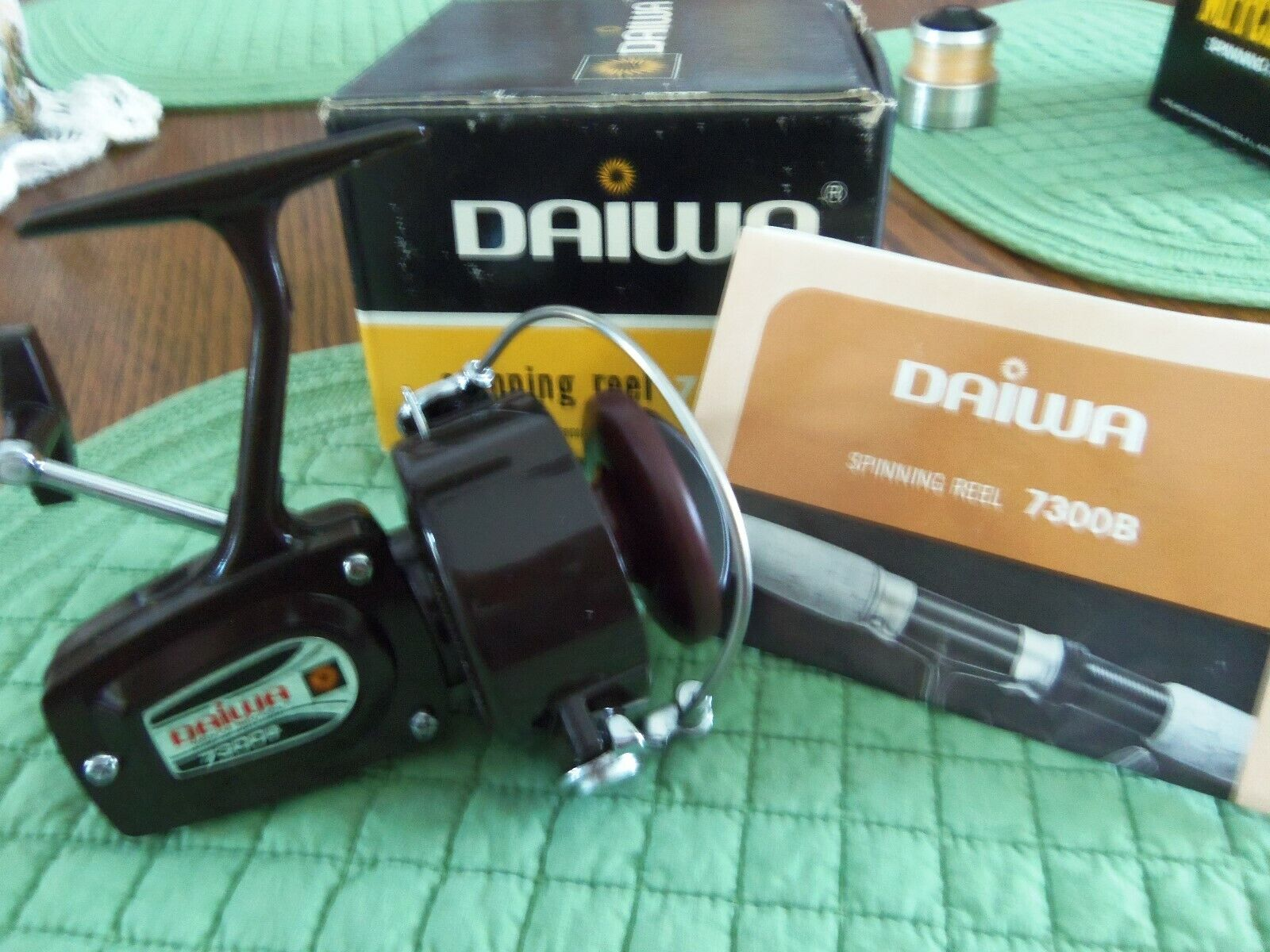 NOS Daiwa  Spinning Reel 7300 B with Booklet  get the latest