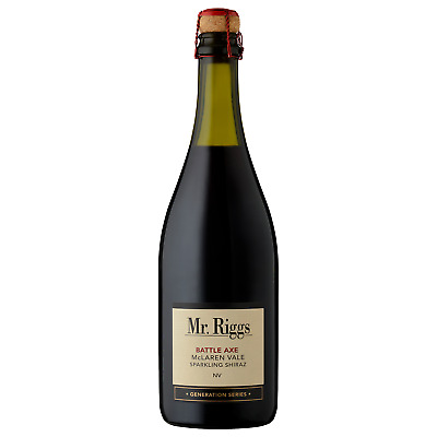 Mr. Riggs Battle Axe Sparkling Shiraz case of 12 Sparkling Red Dry Red Wine