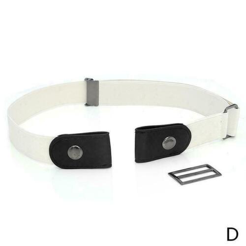 Elastic Invisible Belt Schnallenfreier Elastic Band Invisible Waist für Jea
