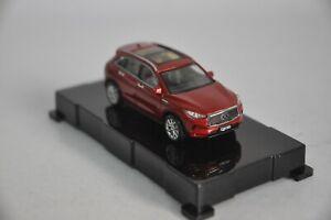 Infiniti-QX50-2018-coche-modelo-en-escala-1-64-Rojo