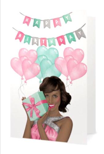 Pink /& Green Fabulous Birthday Card