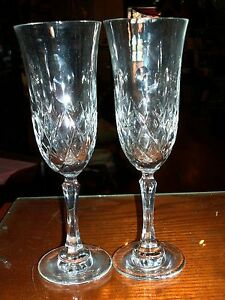 2-Crystal-Wine-Stems-Maker-amp-Pattern-Unknown