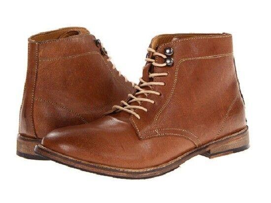 Nuevo Con Etiquetas Ben Sherman Ikon Premium Leather Chukka botas