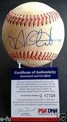 Balls Autographs-original Nick Adenhart Signed Rancho Cucamonga Quakes Game Used Baseball Psa/dna Coa Auto