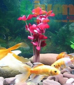 "Decorations Aquarium Plants For Plastic Tank Silk 81016 Pet Supplies 11-12"""