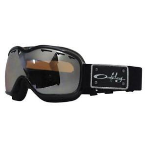Oakley-Stockholm-Ski-Snow-Snowboard-Goggles-Black-Gold-Iridium-New-UK