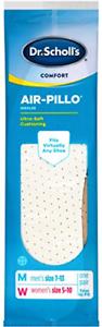 Women Size 5-10 Scholl's Comfort Air-Pillo Insoles 1 Pair Dr Men Size 7-13