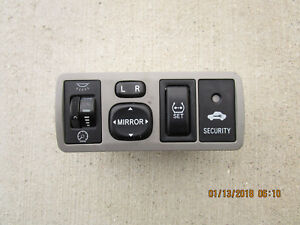 03 08 Toyota Corolla Dash Light Mirror Control Switch