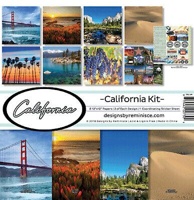 Reminisce Scrapbook Devoted Faith Collection Kit