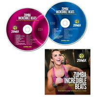 Zumba Incredible Beats Music Cd Vol 1 & 2 Incredible Results System Brand