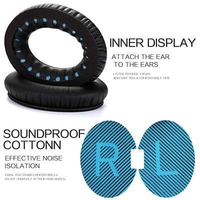 Leather Ear Cushion Kit for Bose QC2//QC15 Headphones Ear Pads Quiet Comfort US