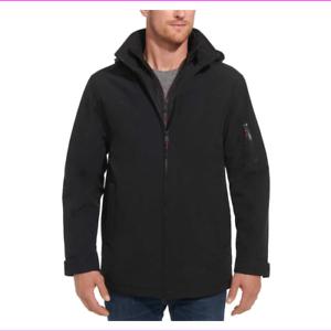 Weatherproof-Men-039-s-Ultra-Tech-Stretch-Hood-Full-Zip-Jacket