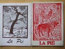 1994-LA PIE'-ALDO SPALLICCI-RASSEGNA BIMESTRALE-DUE FASCICOLI