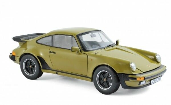 Norev 187574 Porsche 911 911 911 930 Turbo 1977 olive Grün 3,3L 1 18 a2f41d