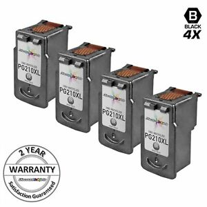 4PK-2973B001-BLACK-HY-Ink-Cartridges-for-Canon-PG-210XL-PIXMA-MP280-MP490-iP2700