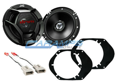 NEW JVC FORD 2-WAY CAR//TRUCK FRONT OR REAR AUDIO SPEAKERS W SPEAKER HARNESS
