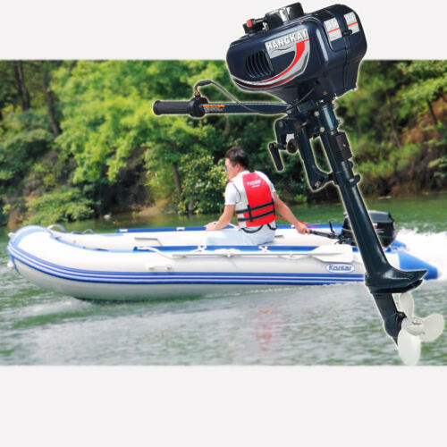 Outboard Motor 3.5HP Fishing Boat Engine 2Stroke Short Shaft Water Cooling Syste