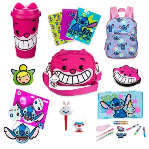 Disney MXYZ lilo and stitch Cheshire cat Tinkerbell toy bag book mug purse pen