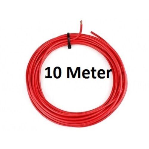 rojo 10 metros 4mm² Coche universal cable-flry tipo B 1,89 euros//metros