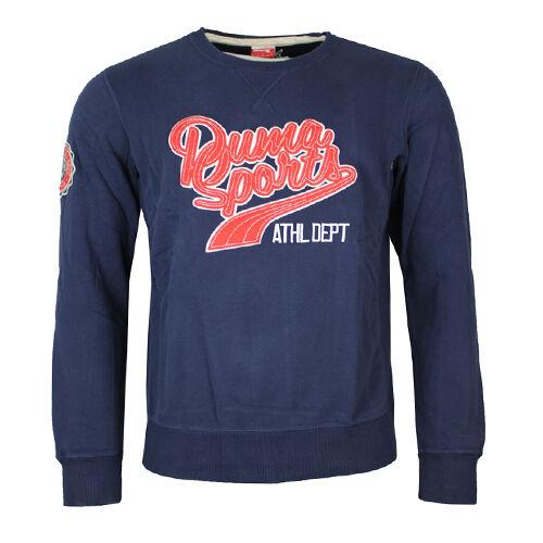 Puma Uni Grafik Rundhals Sweatshirt Pullover Herren 568290 10 CC37