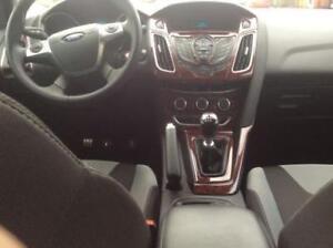 Details About 2015 2016 2017 2018 Interior Wood Dash Trim Kit For Ford Focus Se Titanium St Rs