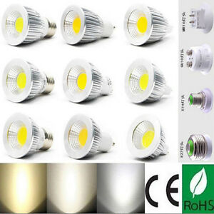 Ultra Bright MR16/GU10/E27/E14 Dimmable CREE LED COB Spot Light Bulbs 6W/9W/12W