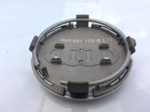 AUDI Q7 S-LINE GENUINE ALLOY WHEEL CENTRE CAP TRIM HUB COVER 60mm 4M0601170 B