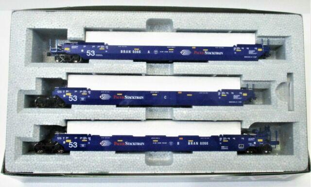Kato HO Gunderson Maxi IV gut 3-Unit Pacer stacktrain Auto Set 30-9056 309056