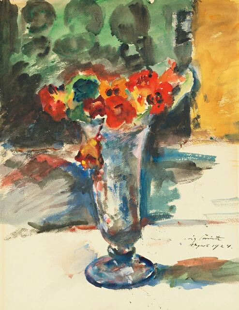 LOVIS CORINTH | Blumen in einer Vase (Flowers in a Vase)